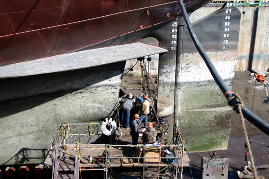 Marine Engineering & Vessel Repair photo
